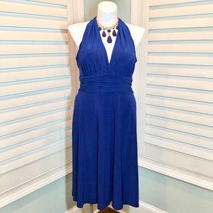 Evan Picone Royal Blue Cocktail Dress, 16, EUC